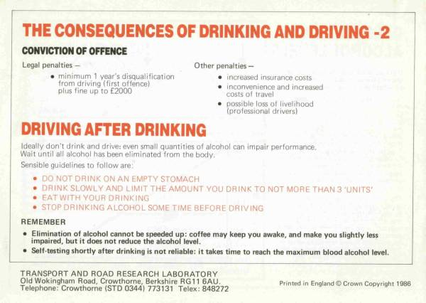 The Facts About Drinking and Driving - Page 8